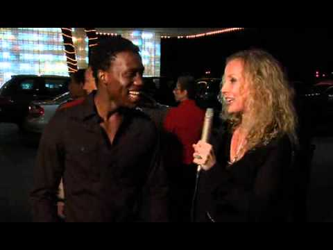 Red Carpet Interview with Amadou Ly at Hollywood Park Casino Grand Re-Opening Nov. 11, 2011