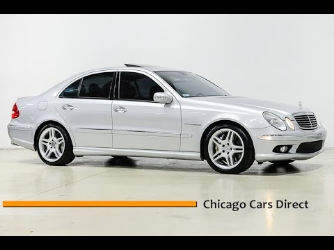 Chicago Cars Direct Reviews Presents a 2006 Mercedes-Benz E-Class E55 5.5L AMG Sedan - A851574