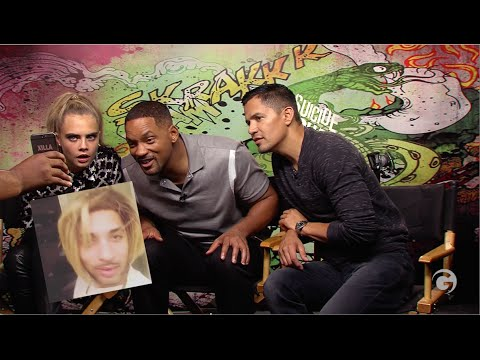 Will Smith & Suicide Squad Cast Reacts To Joanne The Scammer