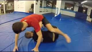 Powerful BJJ Mount Escape (Tunnel Escape)- Firas Zahabi