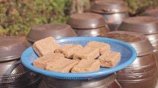 메주로 된장담그는방법~소금물농도와 메주양을 알려드려요!/How to make soybean paste