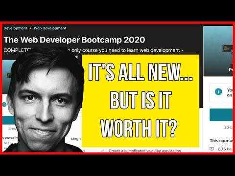 COLT STEELE Is BACK, But Is The Course Any Good? (The Web Developer Bootcamp 2020 Review)