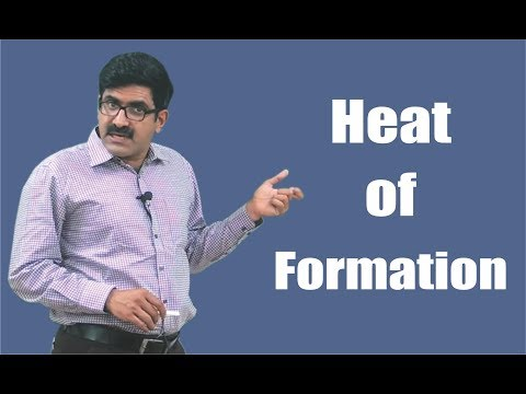 Heat of Formation for XI   XII   JEE-Main   JEE-Advanced
