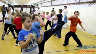 """Спортклуб """"Барс"""" провел для детей открытый урок по рукопашному бою"""