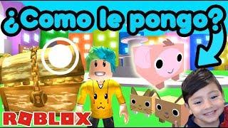 Maskottchen en Roblox   Super Huevos Epicos   Juegos Roblox Pet Simualtor