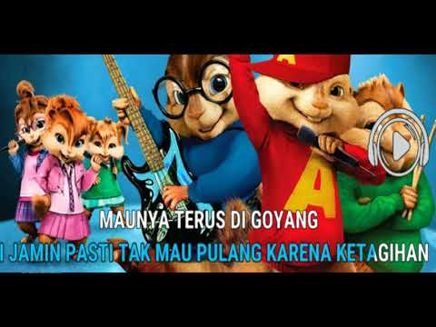 GOYANG NASI PADANG  - CHIPMUNK VERSION (official Lyric)