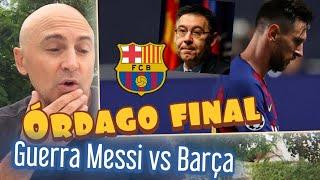 GUERRA MESSI VS BARCELONA. ¿EN QUÉ ACABARÁ TODO ESTO? ¿A QUIÉN PERJUDICA? #MundoMaldini