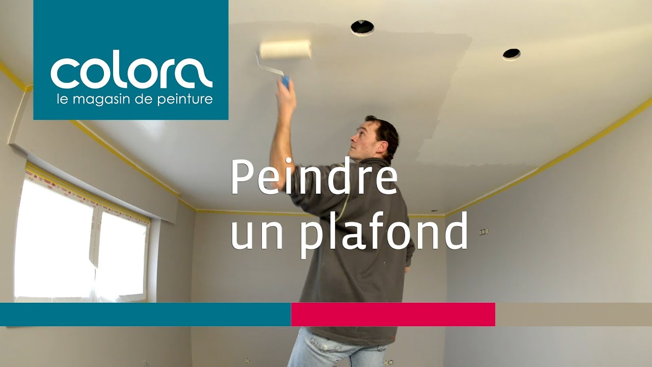 Peindre un plafond comment faire youtube for Faire un plafond