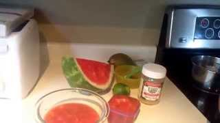 Watermelon Soup.
