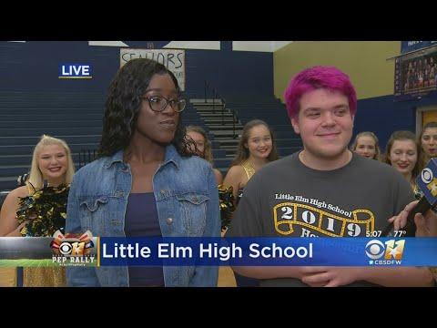 CBS 11 Pep Rally: Little Elm High School Students Take Over CBSDFW Instagram