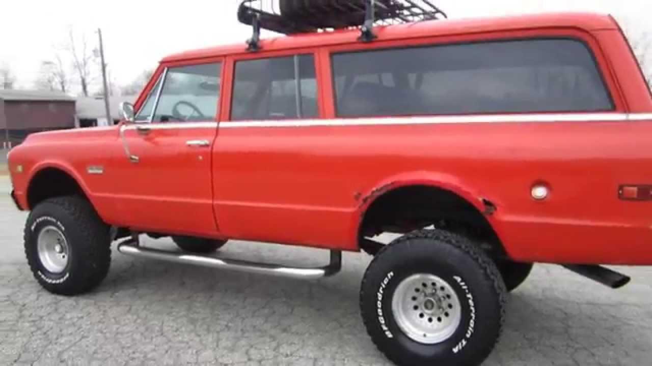 Rare 1972 3 Door Gmc Suburban 4x4 Corvette Lt4