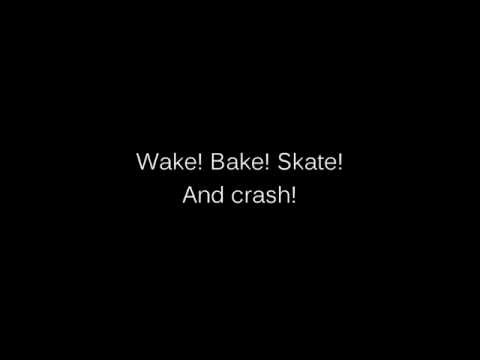 fidlar - wake bake skate (lyrics)