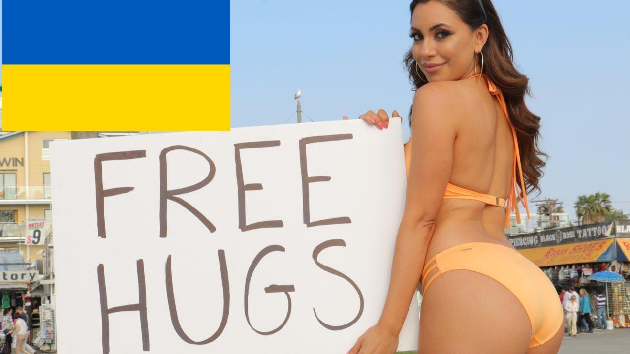 FREE Hugs Social Experiment Ukraine