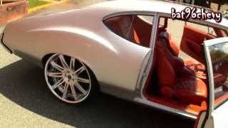 "1972 Oldsmobile Cutlass on 24"" Savini Forged Wheels, INFINITI DASH & CUSTOM INTERIOR - HD"