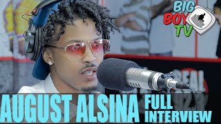 "August Alsina on ""This Thing Called Life"", Falling In Love, And More! (Full Interview) 