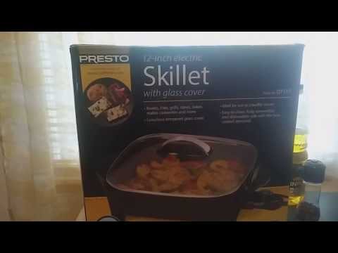 Presto 12 inch Electric Skillet ( Product Review  )
