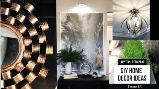My Top Home Decor DIYs for 2019 You Should Try