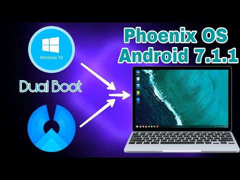 How To Install Phoenix OS Android 7.1.1 On PC OR Laptop [Dual Boot] [Windows + Android] (Urdu/Hindi)
