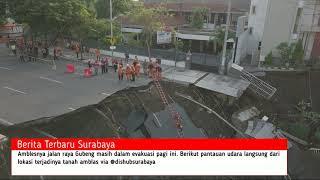 Jalan Gubeng Surabaya Ambles, Fenomena Akhir Tahun 2018