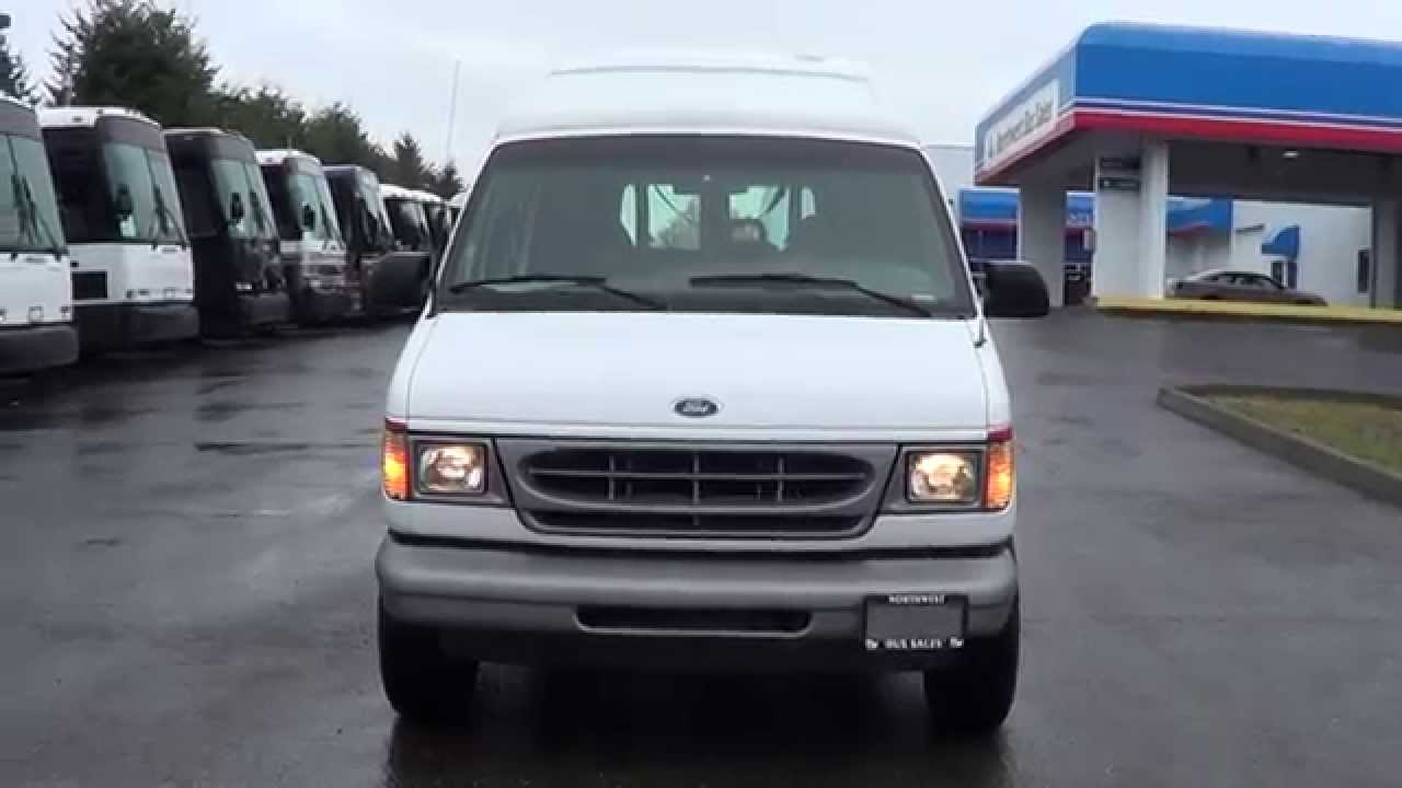 Ford E350 Van >> Northwest Bus Sales Used 2002 Ford E350 CommTrans Wheelchair Lift Van S40123 - YouTube