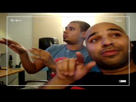 In the studio with Afrojack & Sidney Samson