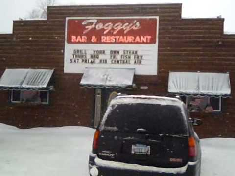 christmas mi foggys bar and restaurant great steaks 1 snowmobile stop youtube - White Pine Lodge Christmas Mi