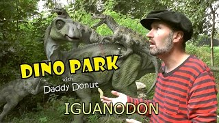 THE FIRST DINOSAUR? | DINO PARK with Daddy Donut - Fun Iguanodon Facts for Kids