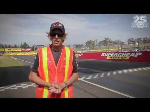 2015 Bathurst Track Walk with Warren Luff