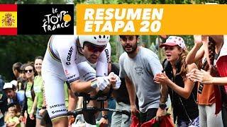 Resumen - Etapa 20 - Tour de France 2018