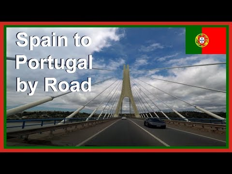 Driving to Portugal from Spain: Europe Road Trip