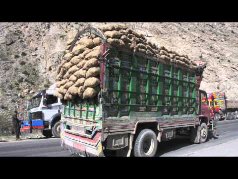 """Demining Afghanistan - A picture tale: """"Moving from Aid to Trade by international road transport"""""""