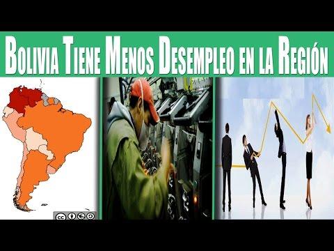 Bolivia Tiene el Desempleo Más Bajo de Sudamérica el 2016 Pero...