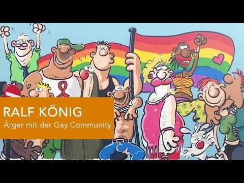 DER COMICtalk 13: RALF KÖNIGS Ärger mit der Gay Community &