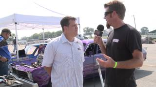 Drag Week 2013: Eddie Miller Talks Smack Before His First Pass on Day 1
