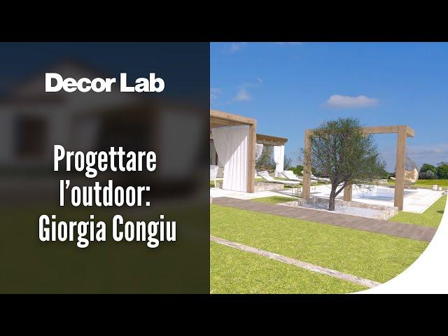 Progettare l'Outdoor: il lavoro del progettista secondo Giorgia Congiu
