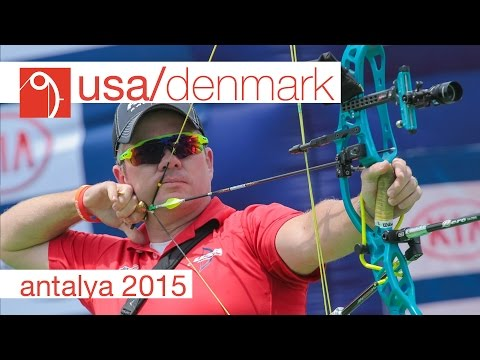 USA v Denmark – Compound Mens Team Gold Final | Antalya 2015