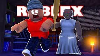 MINHA NAMORADA VIROU A GRANNY - Granny Multiplayer ( Roblox )
