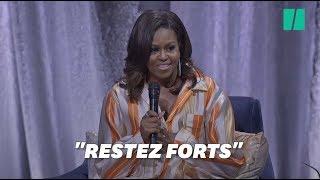 """""""Gardez la foi"""", le discours de Michelle Obama sur l'incendie de Notre-Dame"""