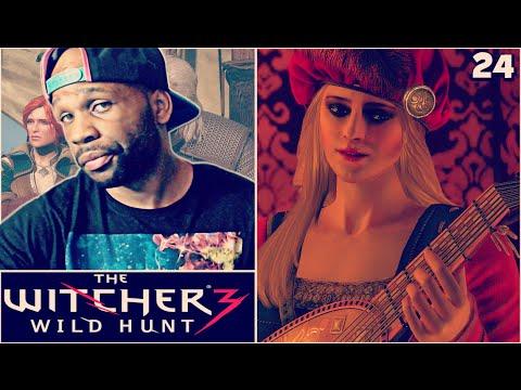 The Witcher 3 Wild Hunt Walkthrough Gameplay Part 24 - Meeting Priscilla