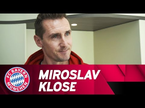Miroslav Klose: Interview with the new FCB under 17's coach