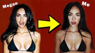 Recreating ICONIC Pictures of Megan Fox