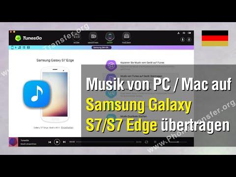 Musik von PC / Mac auf Samsung Galaxy S7 Edge / S7 übertragen