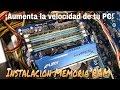CÓMO INSTALAR MEMORIA RAM AUMENTA LA VELOCIDAD DE TU PC mp3