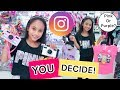 Instagram Followers Control My Shopping Challenge!