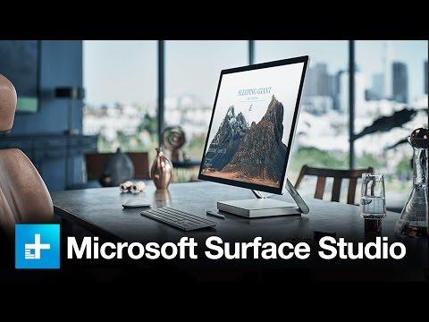 Microsoft Surface Studio - Full Announcement