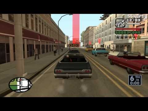 GTA San Andreas - Race Tournament #1 - Los Santos