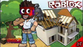 ROBLOX Indonesia #47 Lumber Tycoon2 | Gotong Royong Benerin Roof Tile Factory