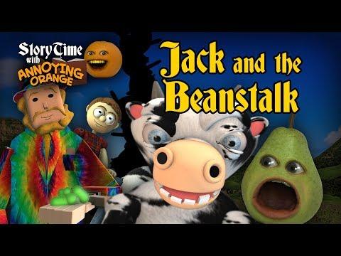 Annoying Orange - Storytime #5: Jack and the Beanstalk