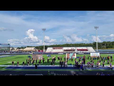Lumpkin County High School Band of Gold - Creekview Classic competition 2018