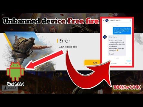 Download [Freefire] Cara Membuka device Yang TerBan    September 2019    Channel Sagalana
